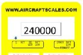 Wireless weighing for aircraft, aircraft wireless weighing, aircraft scales, airplane scales