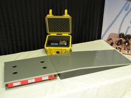 aircraft scale, aircraft platform scale, aircraft scales, helicopter scales, H60, S76, AW109, S92, CH47