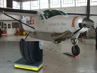 Airplane weighing, weighing an airplane, airplane scale, airplane scales,