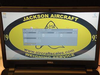 Wireless aircraft weighing, aircraft weighing, wireless weighing, weighing machine
