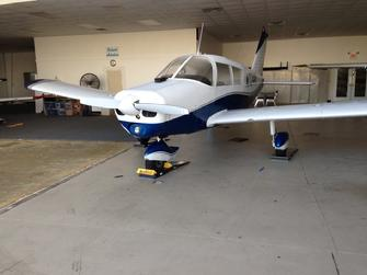 small aircraft weighing, piper weighing, piper on aircraft scales, weighing a piper, how to weigh a piper, aircraft scale piper, piper aircraft scale, piper airplane scale