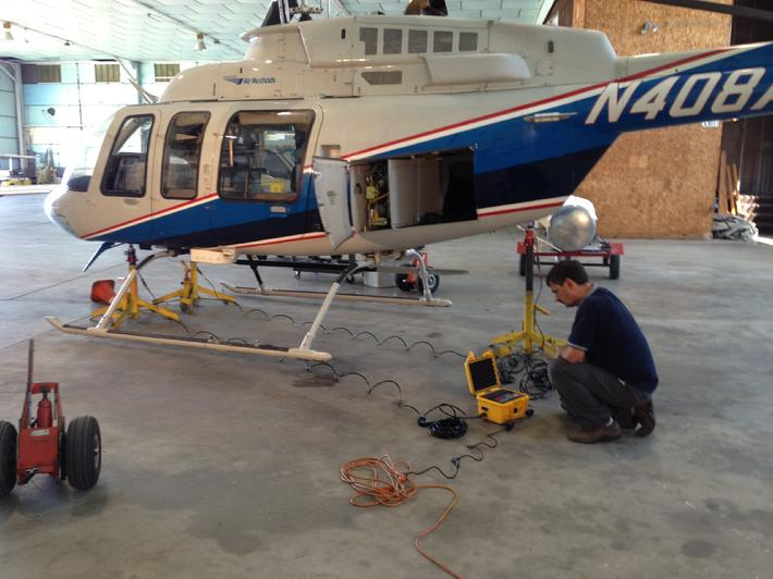 Bell 407, Weighing A Bell 407, How To Weigh A Bell 407, Meyers  How Would You Weigh A Plane Without Scales